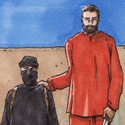 extremist isis islam forgive satire commentary drawing marker